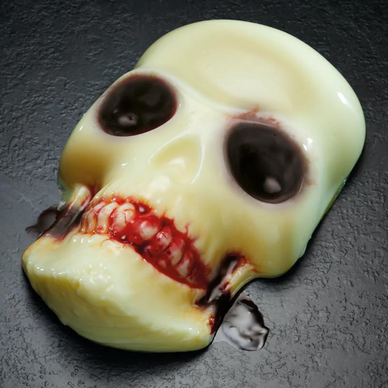Skull Shaped Halloween Jelly Maker