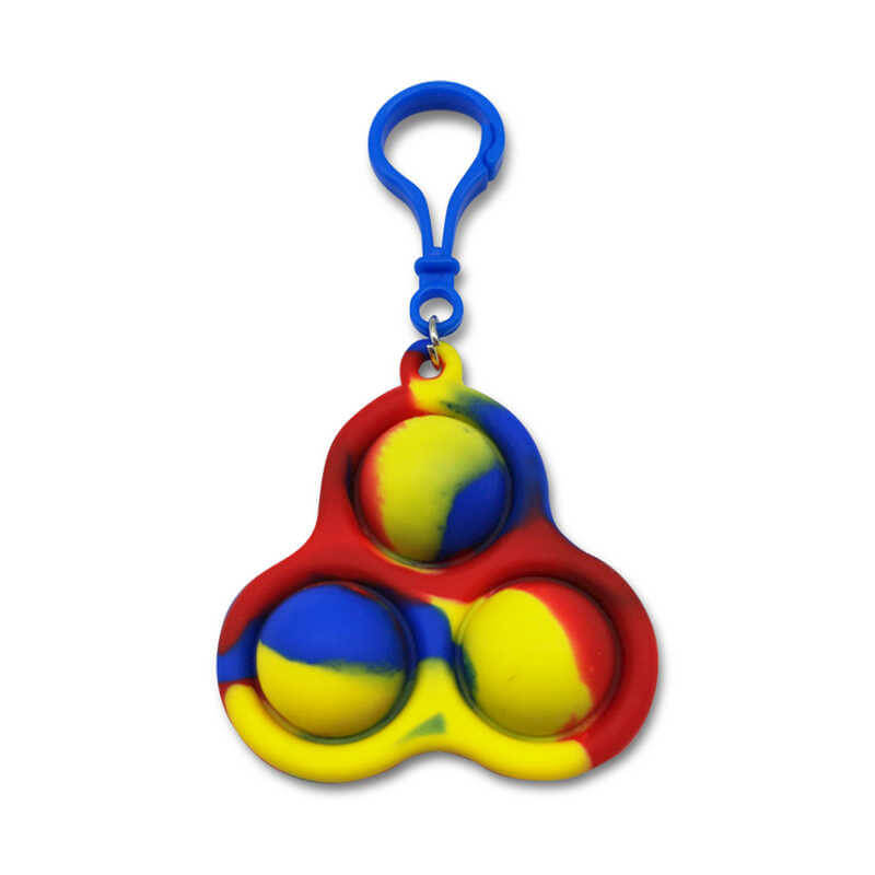 Triple Pop Key Chain