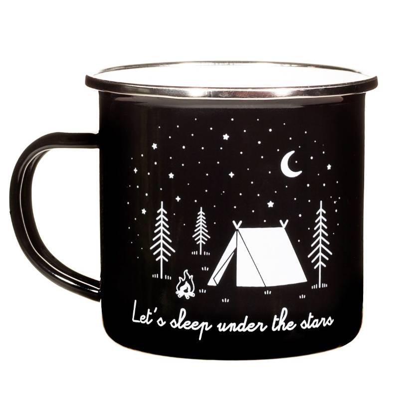 Under the Stars Enamel Mug