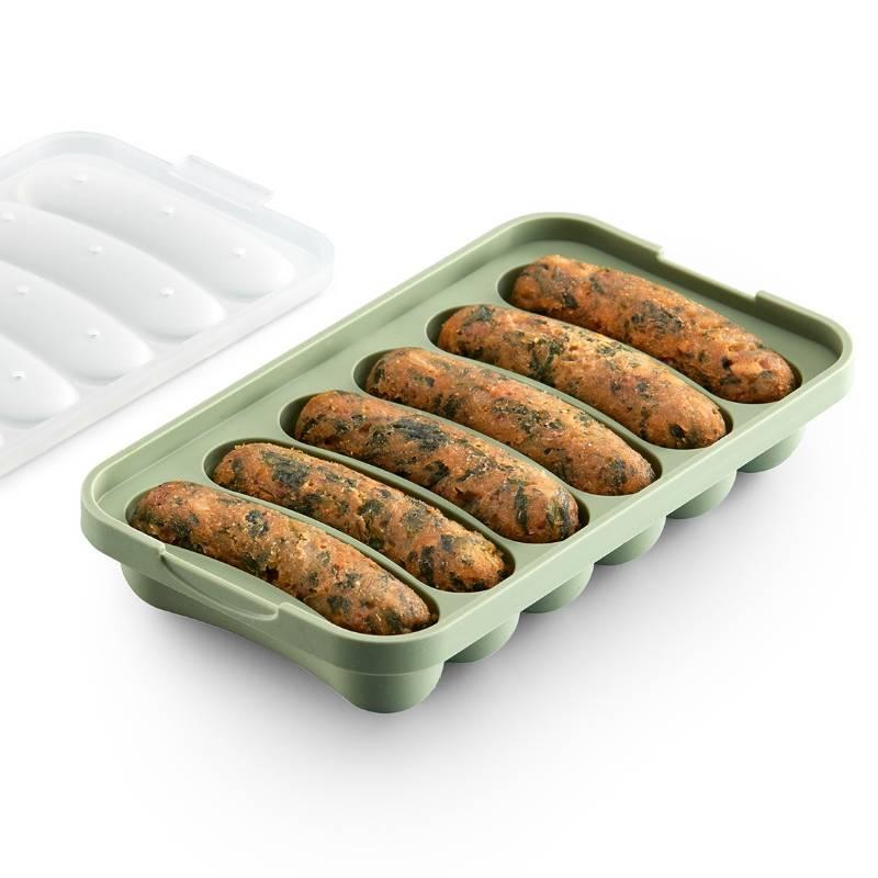 Veggie Sausages Mould