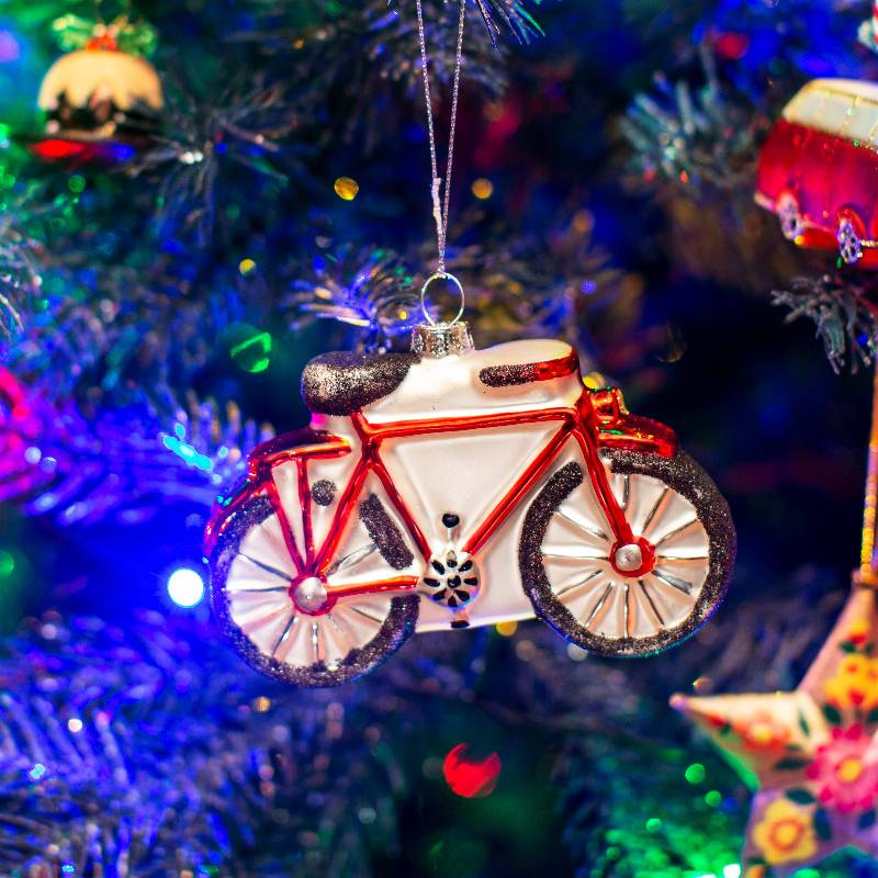 Bicycle Shaped Bauble
