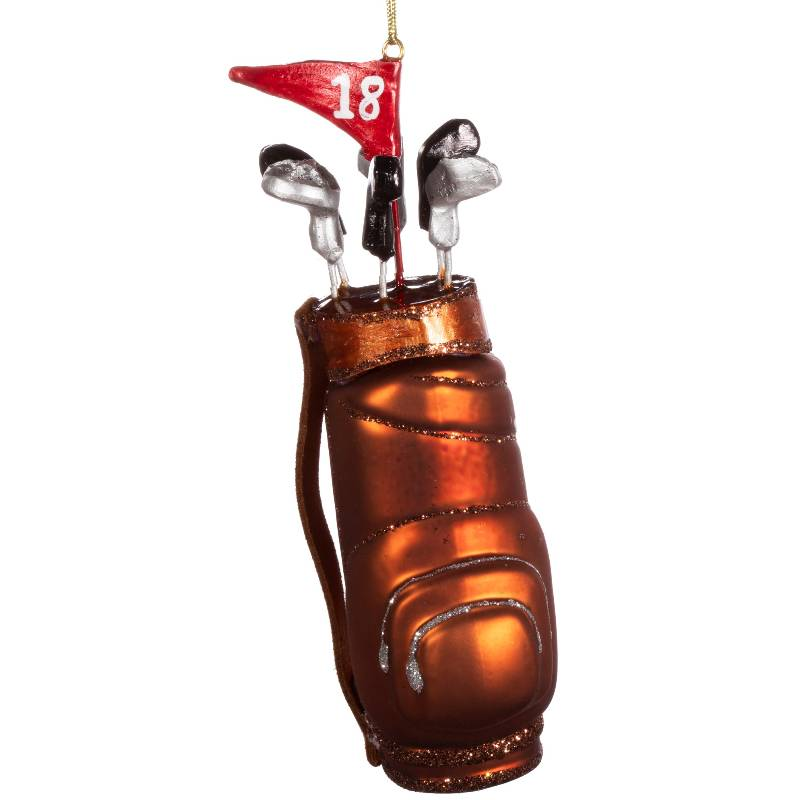 Golf Clubs Shaped Bauble