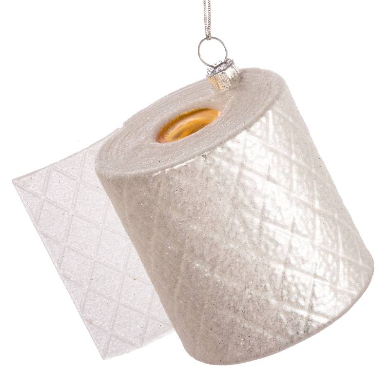 Loo Roll Shaped Bauble