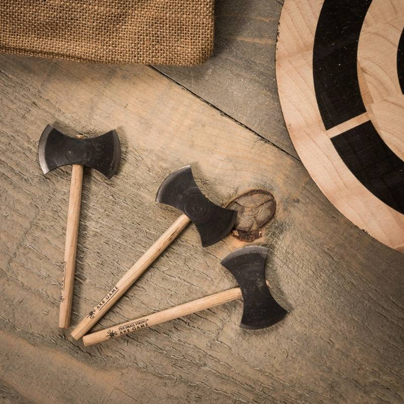 The Small Viking Axe Throwing Game