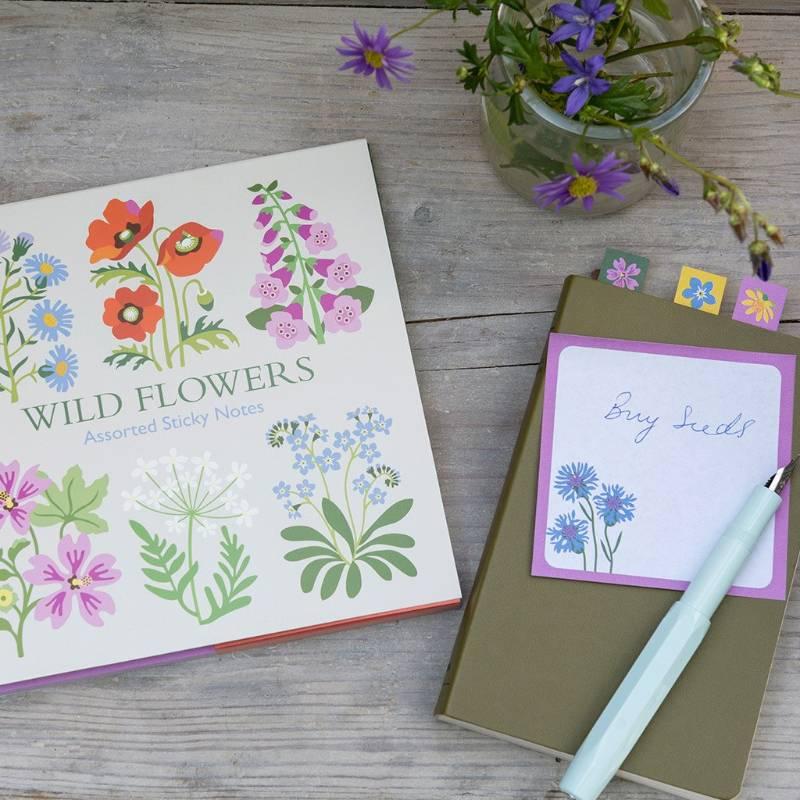Wild Flowers Sticky Notes