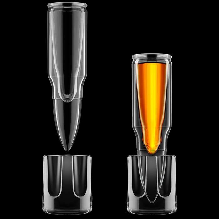 Kaliber .50 Shotglas