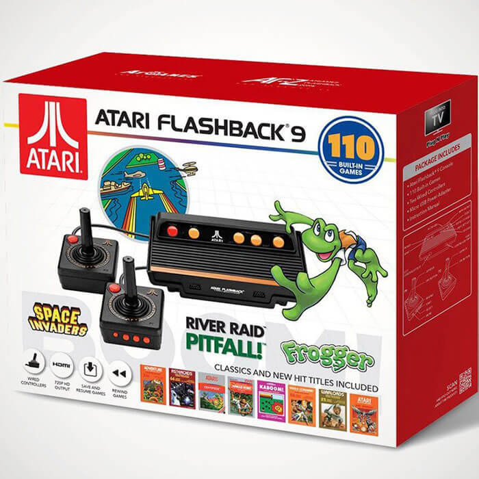 Atari Flashback 9 Atari Flashback 9 BOOM! Retro-Konsole