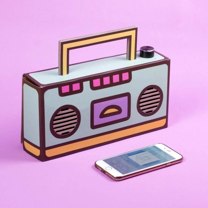 DIY Boombox Pusheen
