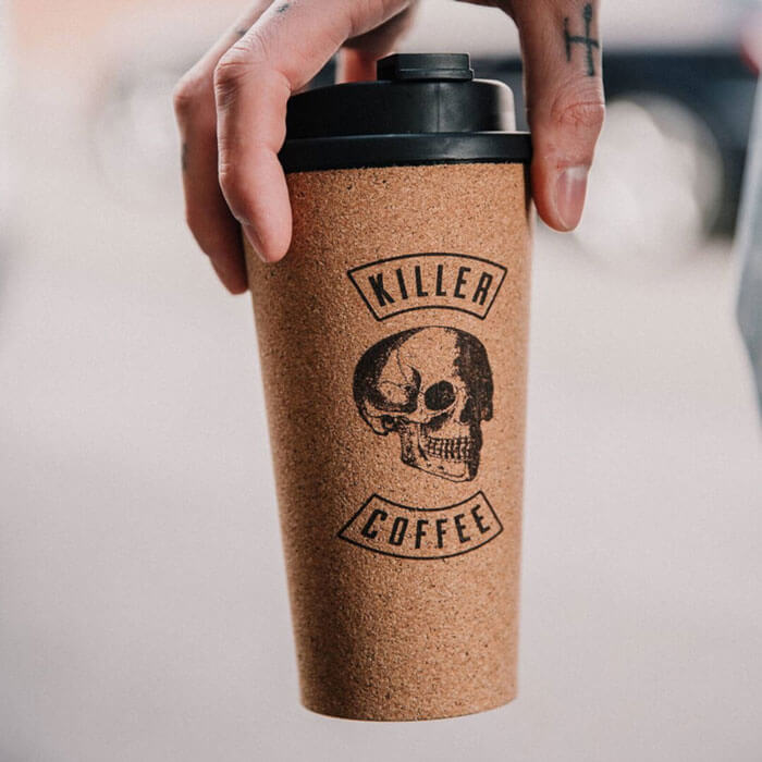 Killer Coffee Reusable Coffee Cup