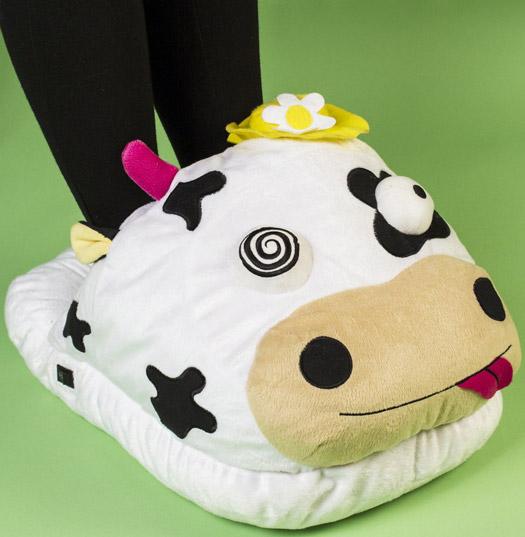 Giant Cow Massage Slipper