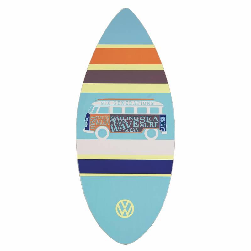 VW Campervan Skimboard Blue