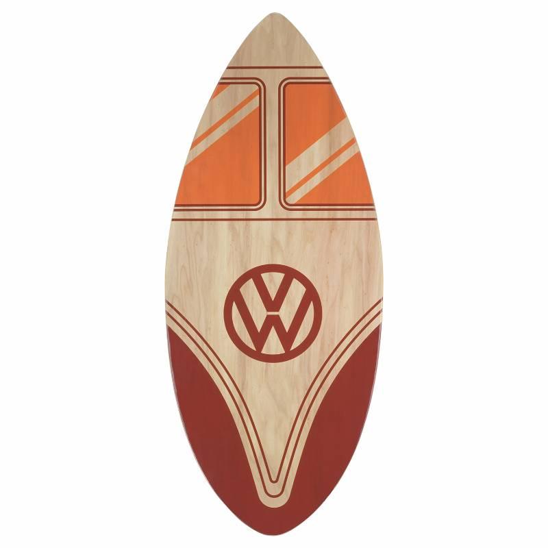VW Campervan Skimboard Red