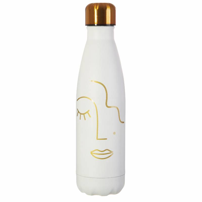 Abstract Face Water Bottle