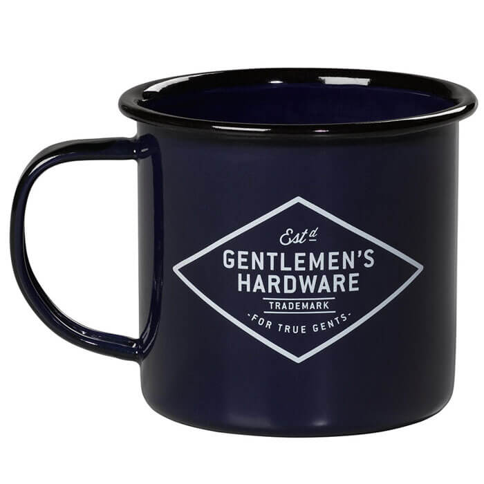 Navy Adventure Begins Enamel Mug