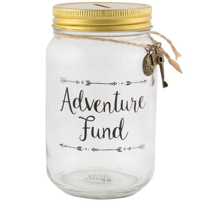 Spardose für Abenteuer