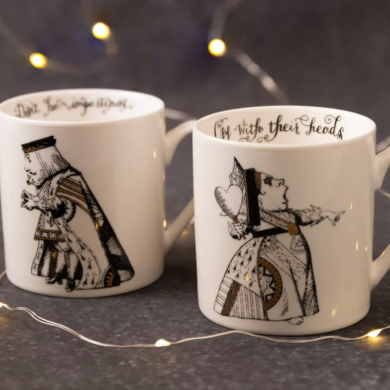 Alice In Wonderland Set of 2 His And Hers Mugs