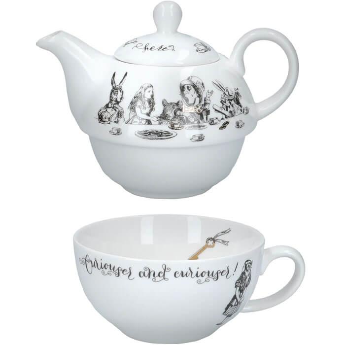 Alice im Wunderland Tee-Set