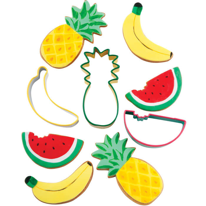 Fruit Salad Cookie Cutters