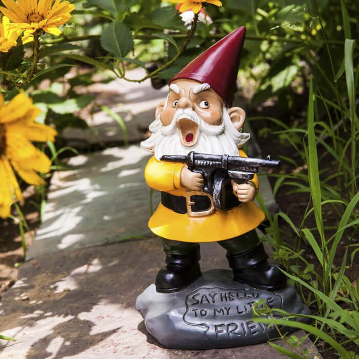 Garden Gnome Scarface