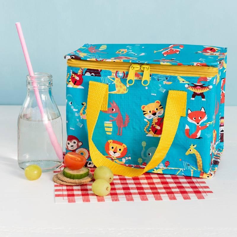 Animal Band Lunch Bag