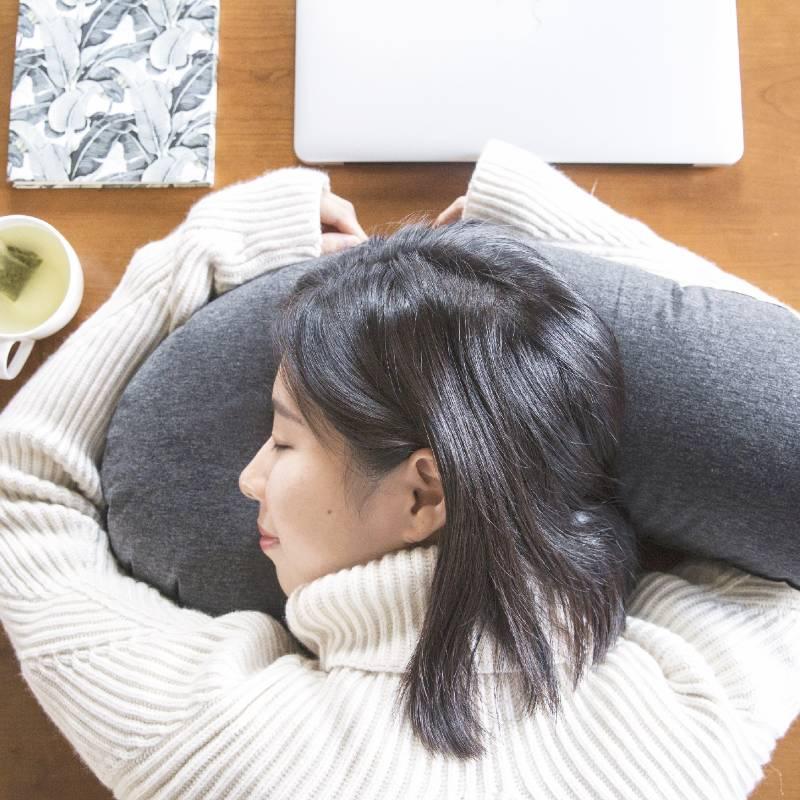 Inflatable Eggplant Travel Pillow