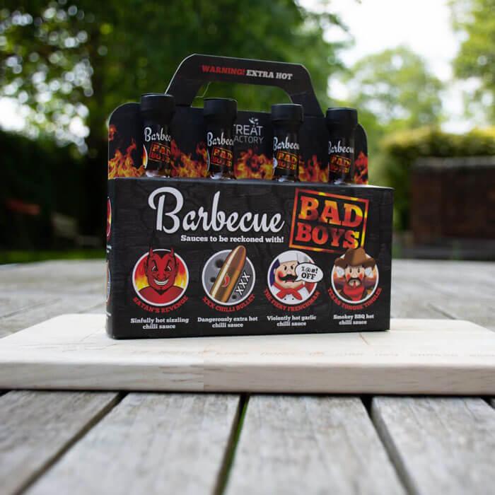 Set Sauces Barbecue Bad Boys