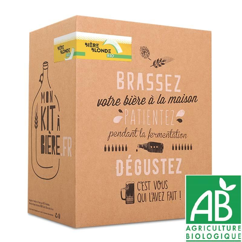 Organic Beer Brewing Kit Belgian Pale Ale
