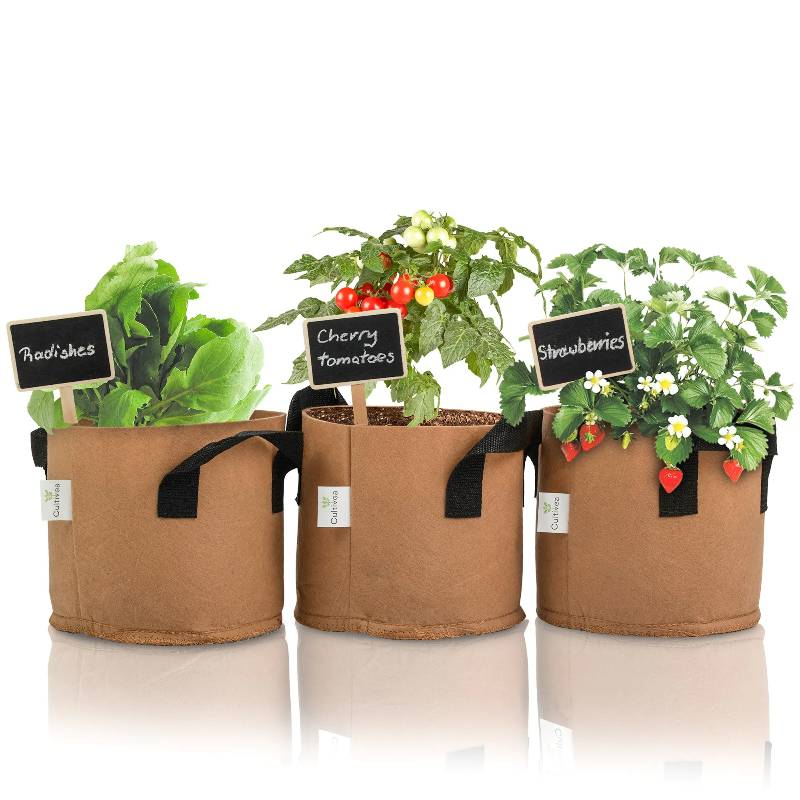 Organic Planting Bag Set