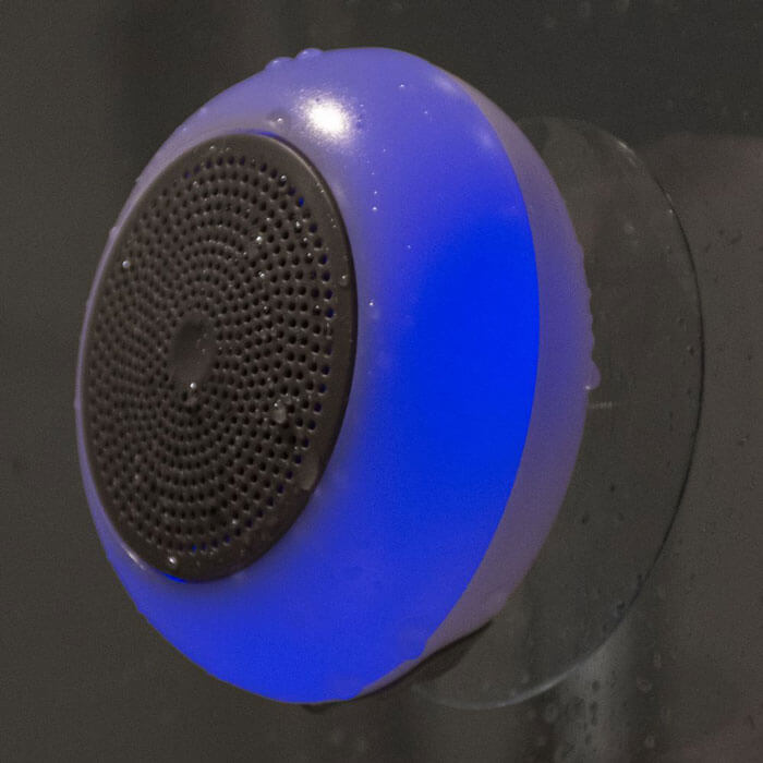 Light Up Shower Speaker