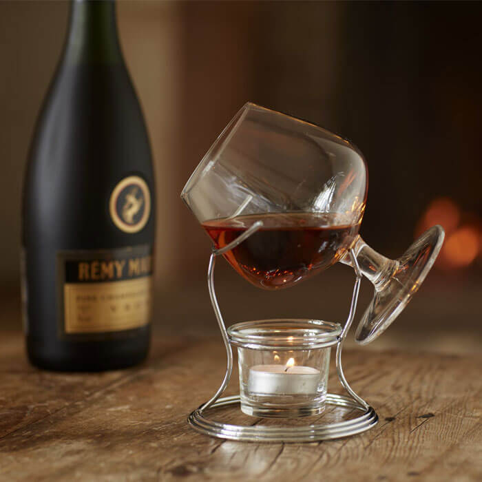 Brandy and Cognac Warmer Set