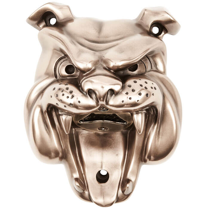 Bulldog Wall Mounted Bottle Opener