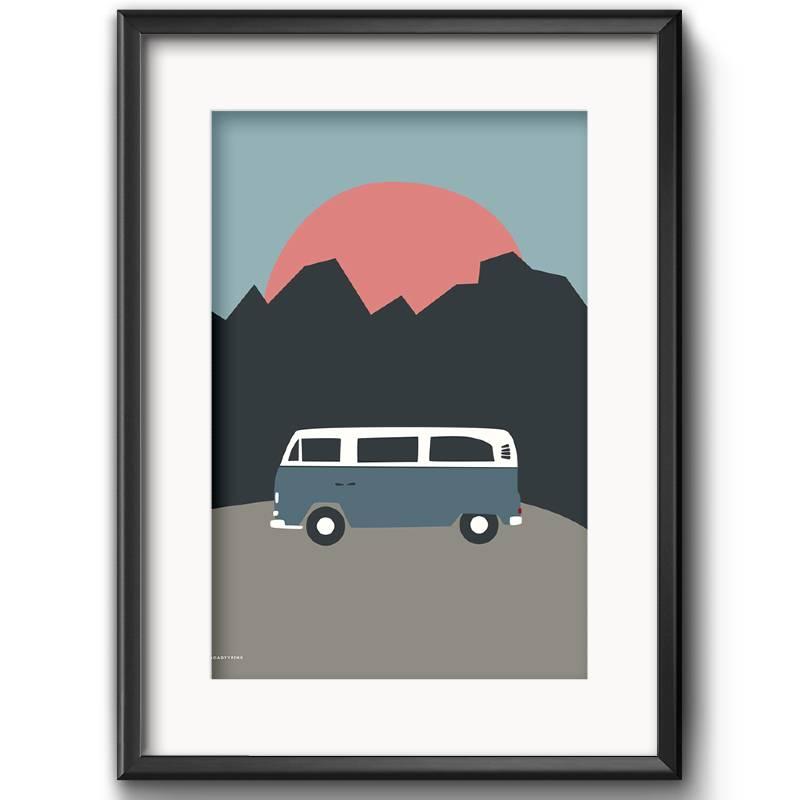 Campervan Art Print