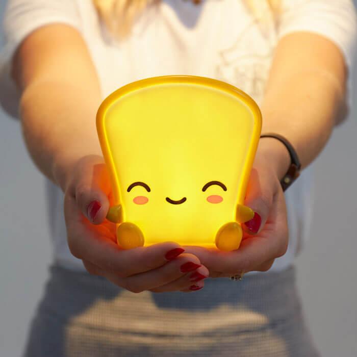 Buttertoast Nachtlicht