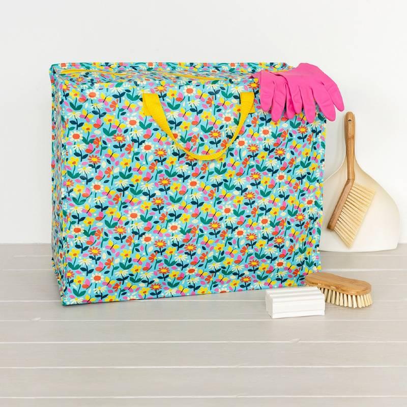 Butterfly Garden Jumbo Storage Bag
