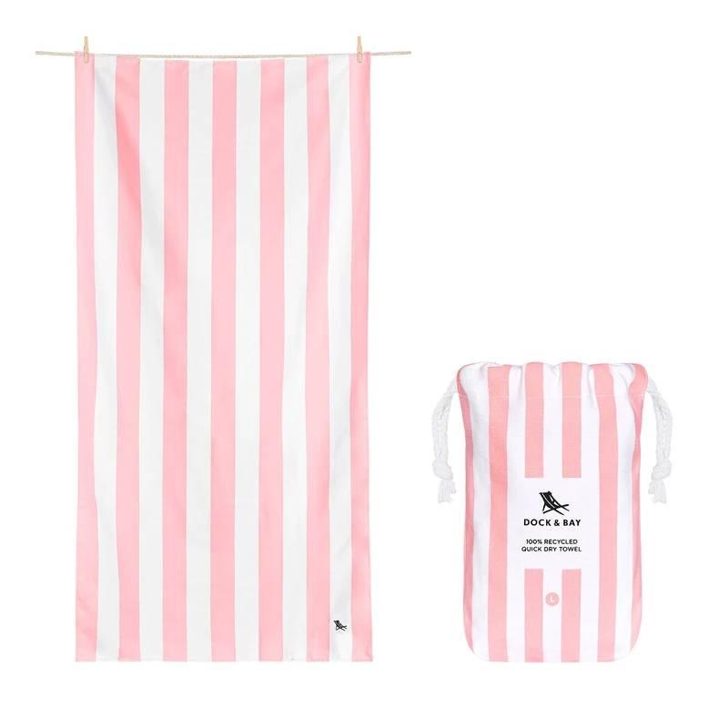 Cabana Beach Towel Light Pink