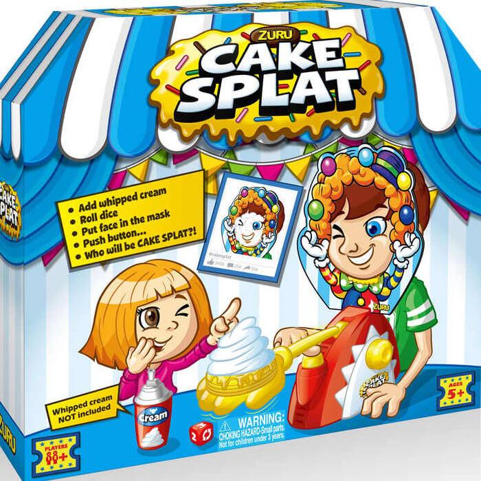 Tortenschlacht-Spiel Cake Splat