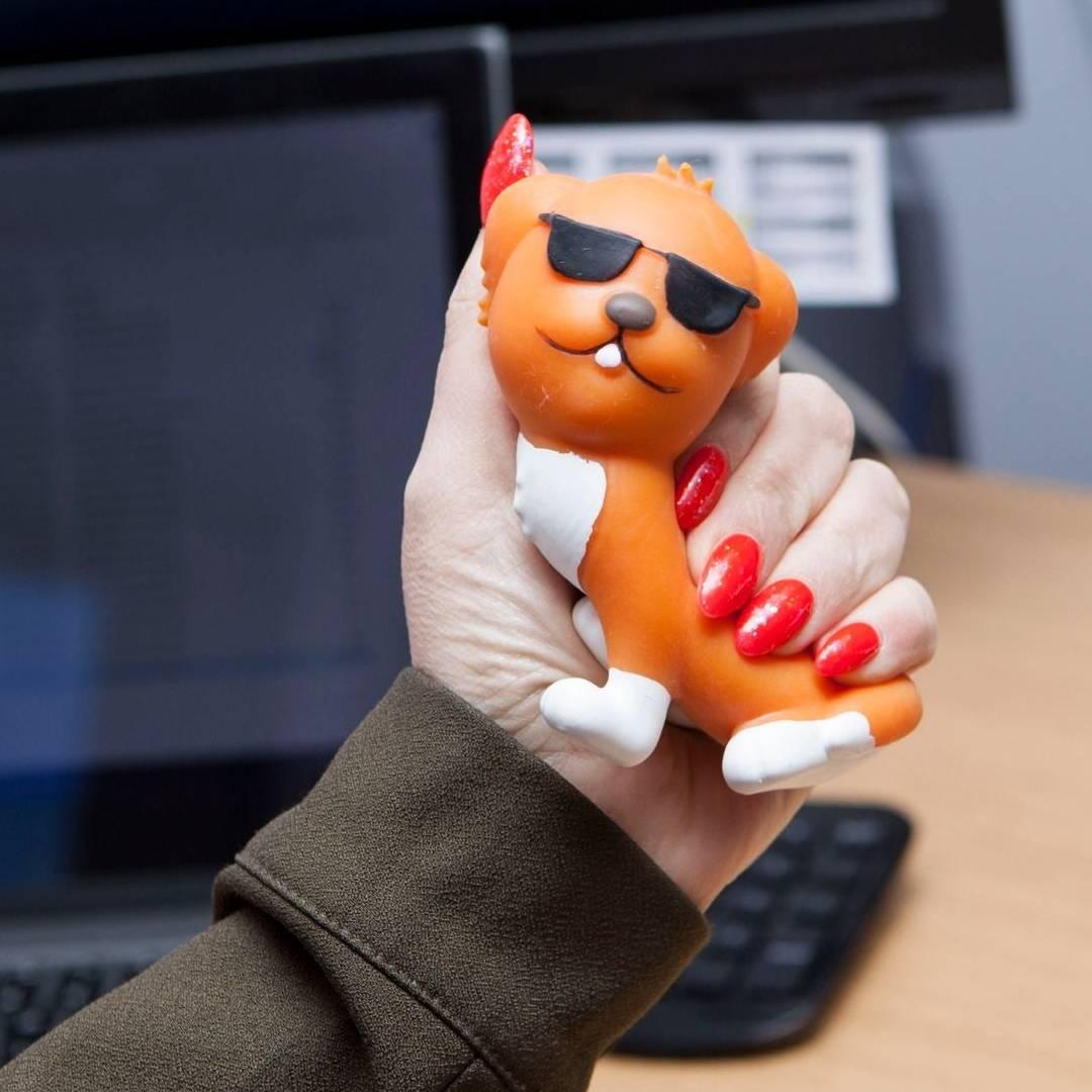 Chill Dog Stress Toy