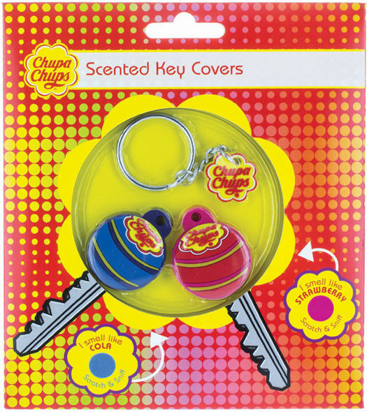 Chupa Chups Scented Key Covers
