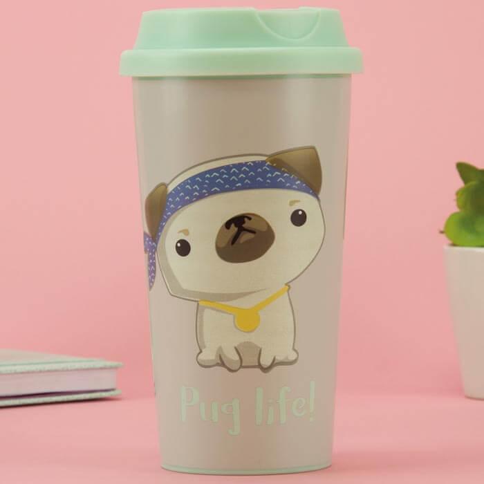 Pug Life Travel Mug
