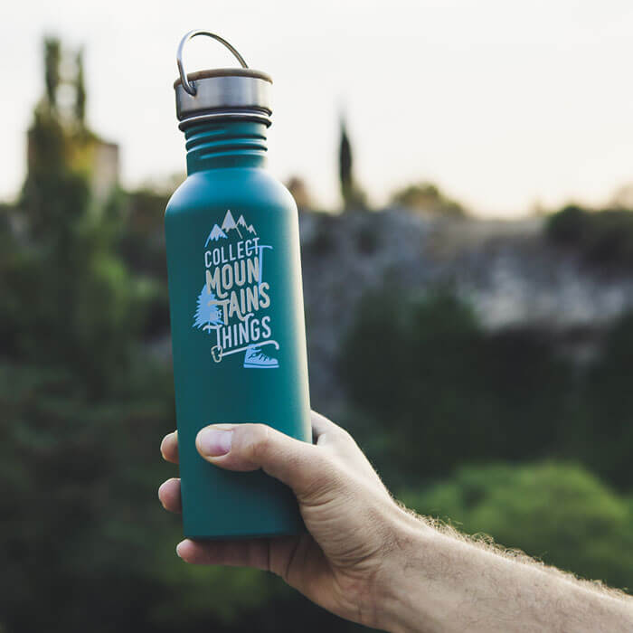 Collect Mountains Water Bottle