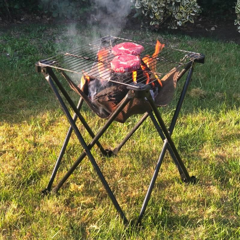 Folding Fire - Bonfire and BBQ