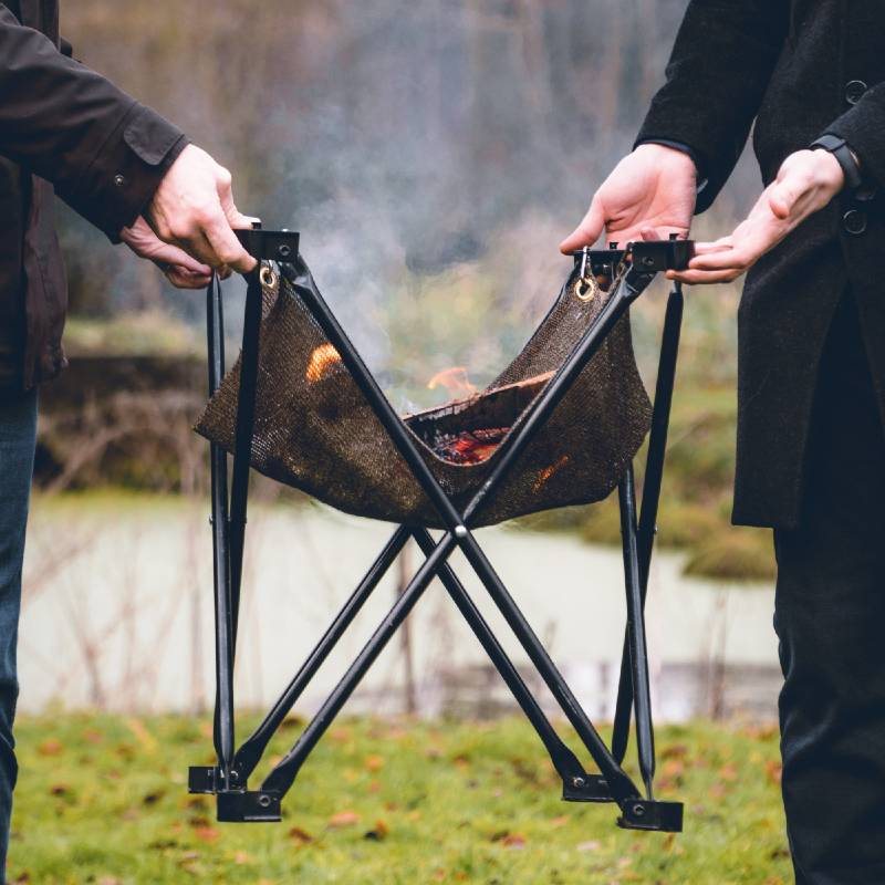 Folding Fire - Bonfire and BBQ