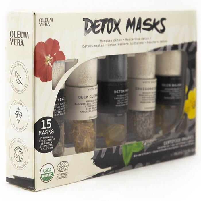 Detox-Gesichtsmasken-Set