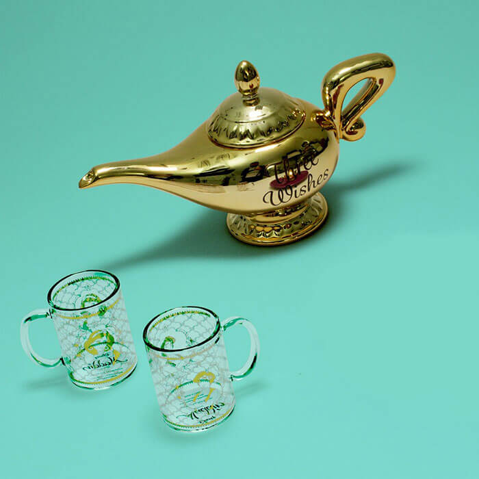 Aladdin Lamp Teapot Set