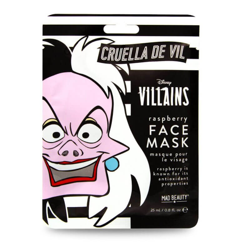 Disney Cruella Sheet Face Mask