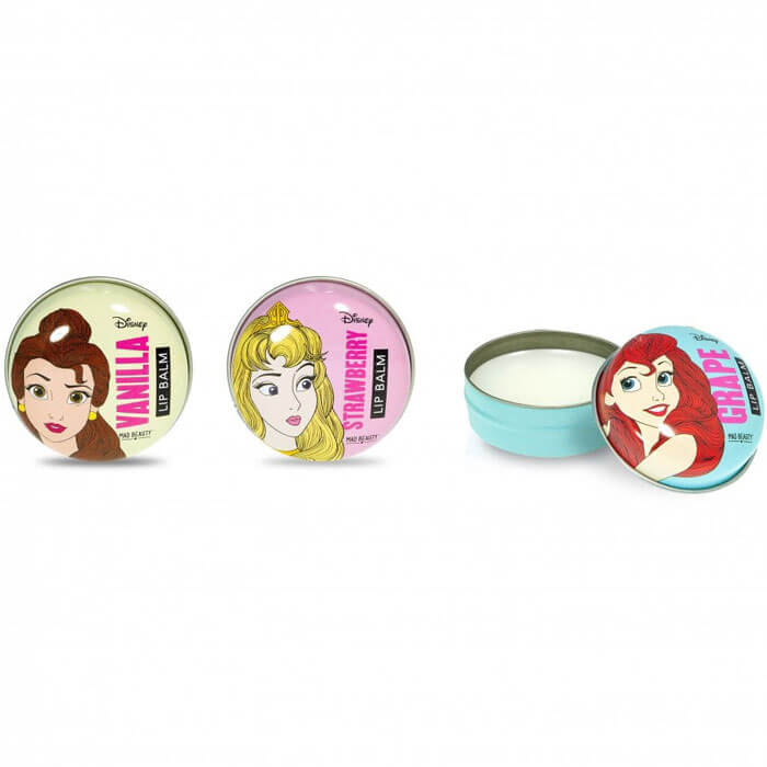 Disney Princess Lip Balm Trio