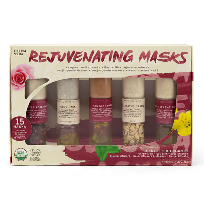DIY Rejuvenating Masks