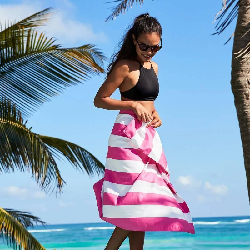 Cabana Beach Towel Pink