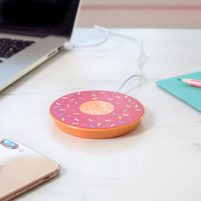 Wireless Donut Ladestation