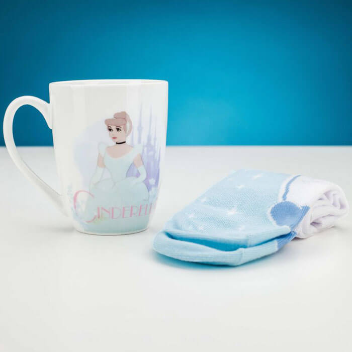 Cinderella Mug and Socks Set